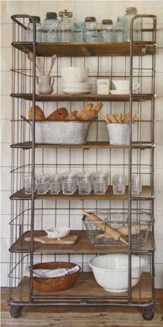 10 Beautiful Kitchens with open shelving mydesignfriend.blogspot.com