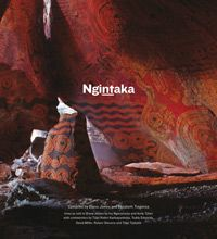 Anangu tell the story of the Ngintaka through rock art, body paint and ceremony and share the story with a wider audience through acrylic paintings, ceramics, wood carvings, tjanpi grass weaving and film - media of the powerful APY contemporary art movement practised in community art centres across the region.  Buy your copy today!