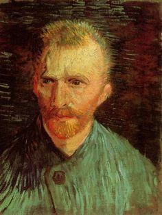 Van Gogh - Self-Portrait, Summer, 1887, Paris, Van Gogh Museum, Amsterdam