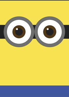 minimalist minion Minion Birthday, Despicable Me, Emoticon, Cute Wallpapers, Iphone Wallpaper, Projects To Try, Typography, Clip Art, Cartoon
