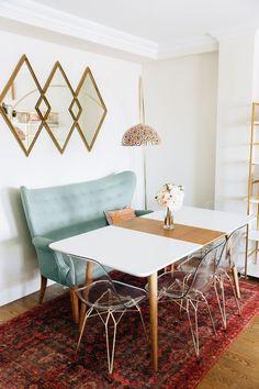Farbkombination Grün Grau Gold Wohnzimmer Einrichten #interiordesign |  Inneneinrichtung | Pinterest | Lofts, Villas And Cozy