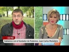 Susana Griso no puede con Juan Carlos Monedero PODEMOS
