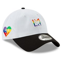 outlet store 46caf a57ed Men s LAFC White New Era Pride 9TWENTY Adjustable Hat, Your Price   22.99