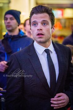 Sebastian Stan aka jawline crafted in heaven