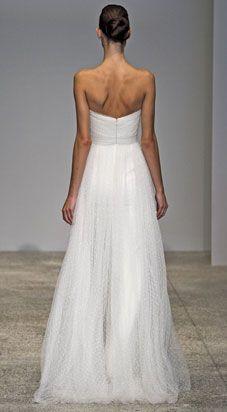 christos bridal - wedding dress - spring 2011 - zinnia