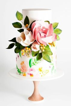 5 Amazing Wedding Cake Designers We Totally Love ❤ See more: http://www.weddingforward.com/wedding-cake-designers/ #wedding #cakes #designers