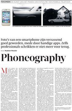 De Volkskrant - November 2011 - Phoneography