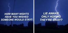"""""""I never counted all of mine/If I tried I know it would feel like..."""" """"Infinity"""" by One Direction."""