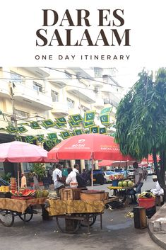Have a long layover or extra day in Dar es Salaam? Wondering how to spend your time in this big African city? Here's your perfect one day itinerary! Places Around The World, Around The Worlds, Eco City, Dar Es Salaam, Alaska Travel, Alaska Cruise, Exotic Beaches, Africa Travel, Culture Travel