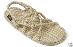 857c1fdf6 Gurkees Rope Sandals - Neptune Beige Mens 11M Gurkee