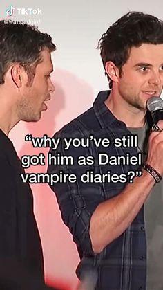 Klaus From Vampire Diaries, Vampire Diaries Wallpaper, Vampire Diaries Funny, Vampire Diaries The Originals, Klaus The Originals, Originals Cast, Vampire Daries, Original Memes, Original Vampire