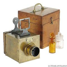 History of Field View Cameras: Adolph Bertsch, Chambre Automatique Camera