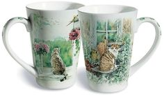 Purrfect Sunny Day Cat Mug – Roses And Teacups