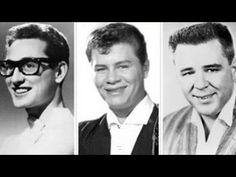 ▶ The Day the Music Died: Buddy Holly, Ritchie Valens and The Big Bopper - YouTube.. (in remembrance)