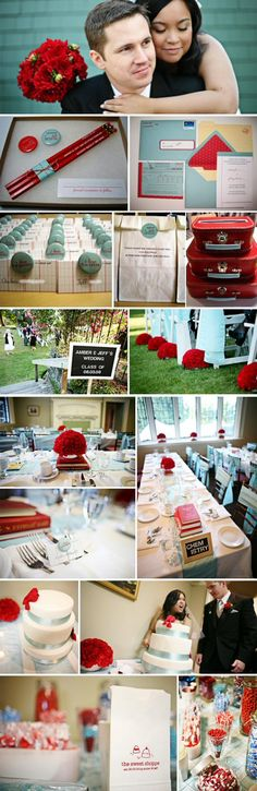 school themed wedding - i adore everything about this for two teachers! :)
