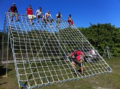 Cargo Net Climbing Obstacle [Update]
