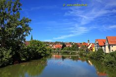 cityfoto24 - Rottenburg am Neckar River, Outdoor, Photos, Wallpaper Murals, Package Design, Business Cards, Outdoors, Outdoor Living, Garden