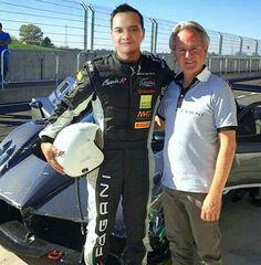 Test driving the Pagani Huayra with Horacio Pagani at the Pagani Automobiles Factory at Sul Panaro, Italy