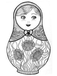 Dibujo m scara de carnaval con flores mascaras carnaval - Matrioska in terapia ...