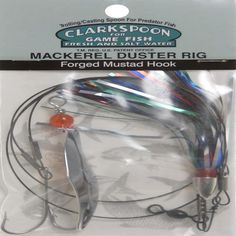 Clarkspoon MDXT-0RBMS Mackerel Duster Rig 0 Spoon, Christmas Tree * Be sure to check out this awesome product.