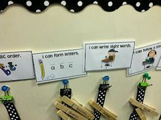 Awesome way to adapt Daily 5 choices to Kindergarten...