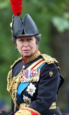 Princess Anne rode a horse named Elizabeth. <p>Photo: © Getty Images</p>