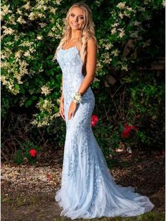 Mermaid Lace Prom Dress, Military Ball Dress,Winter Formal Evening Dress, Homecoming Dress Long, Schoold Party Dress · Yourpromtailor · Online Store Powered by Storenvy Blue Lace Prom Dress, Mermaid Prom Dresses Lace, Straps Prom Dresses, Pretty Prom Dresses, Prom Dresses Blue, Dance Dresses, Bridesmaid Dresses, Tight Prom Dresses, Form Fitting Prom Dresses