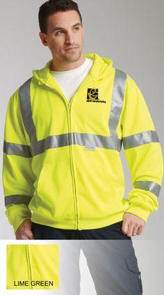 Charles River Hi-Vis Construction Sweatshirts- ANSI Approved $53.95