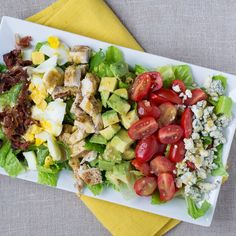 California Cobb Salad with Dijon Vinaigrette