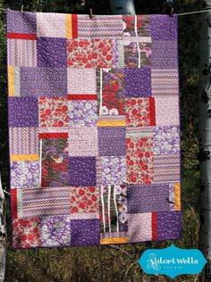 Novella quilt tutorial/pattern. I hate these fabrics in a big way, but it would be awesome with more modern selections!