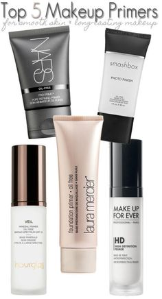 Top 5 Makeup Primers