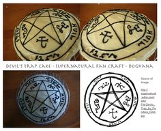 Definitely an idea to consider... Supernatural cake
