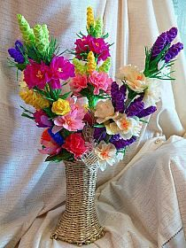 Polish Folk Art, Paper Flowers, Diy And Crafts, Easter, Seasons, Table Decorations, Google, Ideas, Easter Activities