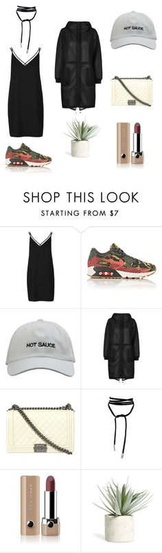 """Back n betta"" by her-aesthetic on Polyvore featuring Topshop, NIKE, Chanel, Marc Jacobs and Allstate Floral"