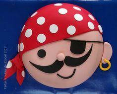 tartas y nubes de azúcar: El cumpleaños pirata de Andrés