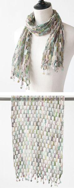 *Sophie Digard 2014SS レディース POINT VIRGULE MINUS LINEN SCARF スカーフ (SW )