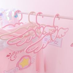 Image discovered by watermelon. Find images and videos about pink, heart and kawaii on We Heart It - the app to get lost in what you love. Baby Pink Aesthetic, Aesthetic Rooms, Aesthetic Themes, Kawaii Bedroom, Cute Room Decor, Pink Room, Cardcaptor Sakura, Pink Walls, My New Room