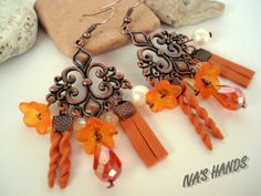 Earrings Autumn emotion by Ivashands on Etsy, $15.00
