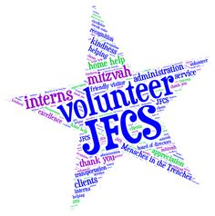 Thanks to all of our volunteers who are part of the JFCS family!