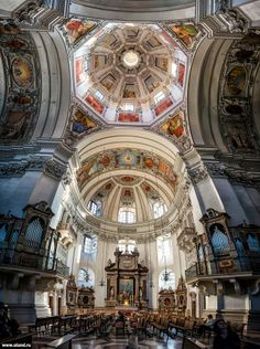 Salzburg Cathedral by Olga Land