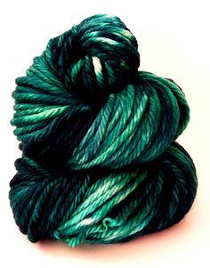 Hand Dyed Yarn  Superwash Merino Snuggle Bulky by SunriseFiberCo, $20.00