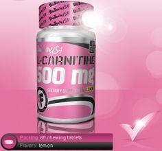 PINK FIT L-CARNITINE 500mg Κατασκευαστής: BioTech Τιμή πώλησης: 11,49 €  Το ενεργό συστατικό, της καρνιτίνης, έχει αποδειχτεί κλινικά ότι λαμβάνει σημαντικό ρόλο στην διάσπαση του σωματικού λίπους προκειμένου να μετατραπεί αυτό σε ενέργεια.  Η καρνιτίνη επίσης βοηθάει στη μείωση της οξείδωσης των μυών και στην αύξηση της καρδιοαναπνευστικής ικανότητας.  Συσκευασία:  60 κάψουλες
