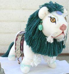Tibetan Snow Lion Doll