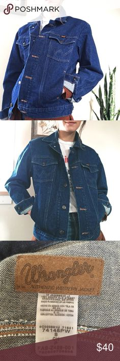 8d4abc430f2 Wrangler denim jacket NWOT  Yeehaw!! This brand new never worn Wrangler denim  jacket