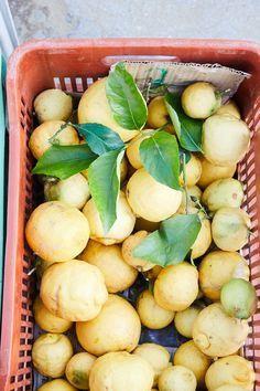 Locally sourced, organic lemons at San Giorgio Mykonos