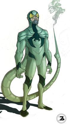 Note: Marvel's Scorpion never looked so good. Marvel Villains, Marvel Dc Comics, Marvel Characters, Marvel Heroes, Anime Comics, Comic Character, Character Design, D Mark, Comic Art