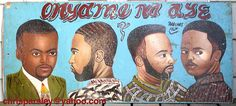 African barber sign | Flickr - Photo Sharing!