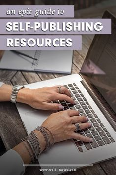 Are you eager to self-publish your book, but just can't seem to find the resources you need? You've come to the right place! This epic list of self-publishing resources includes hundreds of links to reputable companies and freelancers who offer the editin Make Money Writing, Writing Advice, Writing Resources, Writing A Book, Fiction Writing, Writing Ideas, Writing Skills, Professional Writing, Pen Name