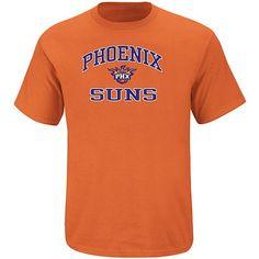 Majestic Phoenix Suns Big & Tall Heart and Soul T-Shirt - Orange