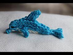 ▶ Rainbow loom Nederlands, Dolfijn deel 1 - YouTube - Machines et élastiques : http://www.creactivites.com/268-elastiques-loom